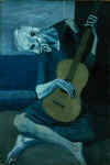 Pablo Picasso's The Old Guitarist (1903)